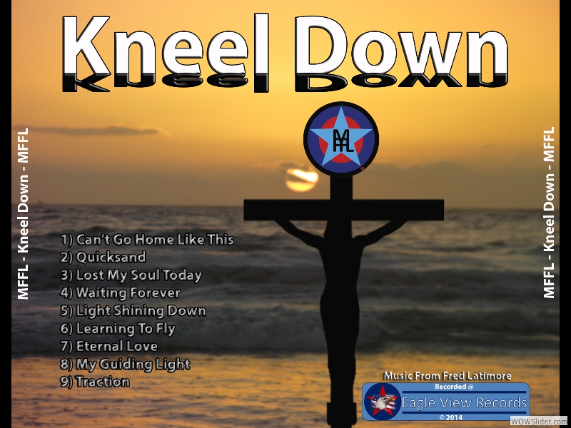 kneel down cd case back